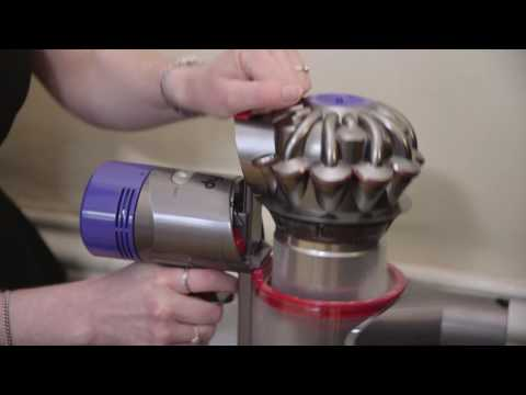 Which? tries out the Dyson V8 cordless vacuum cleaner