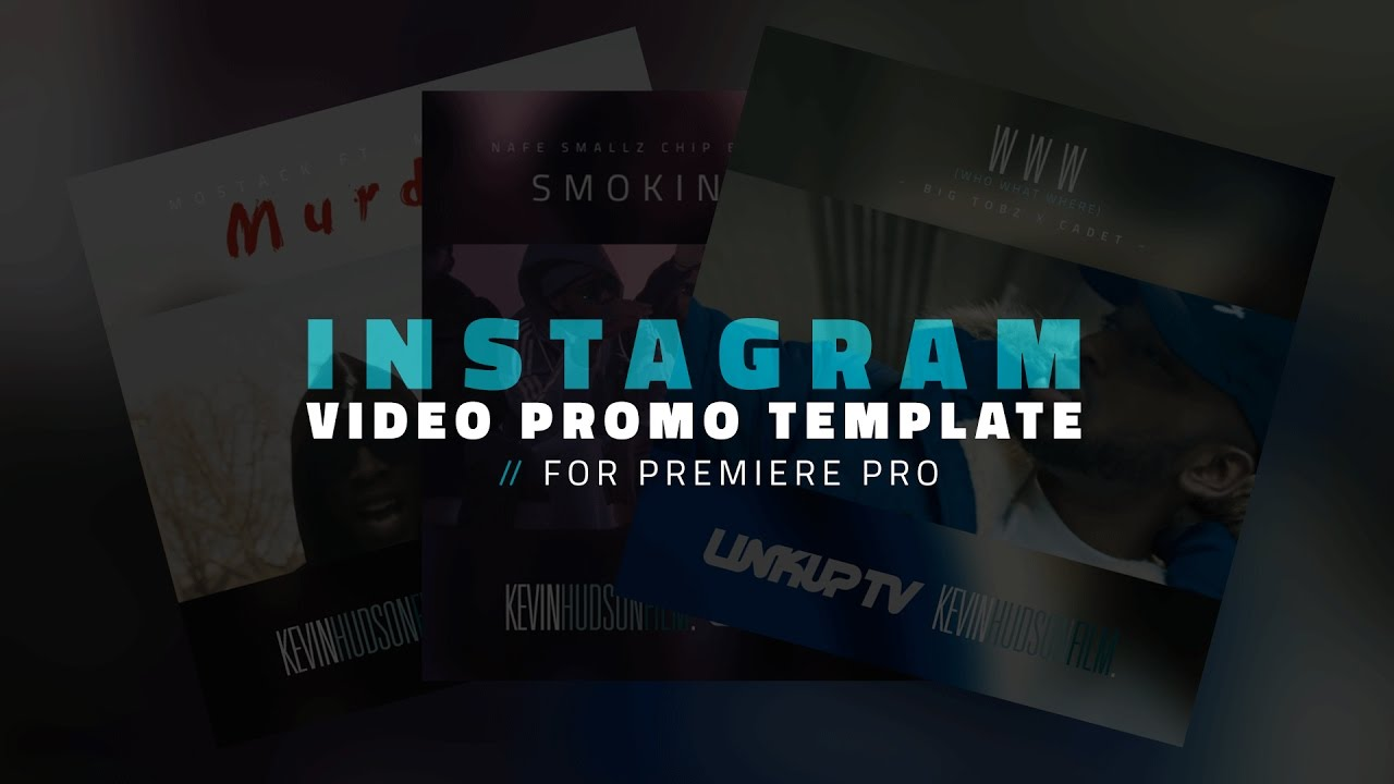 Free Instagram Video Template For Premiere Pro Kevinhudsonfilm