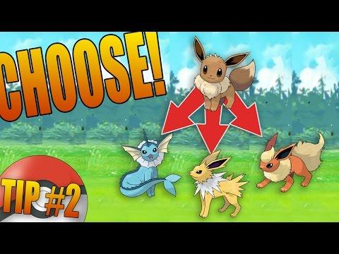 Pokemon How Evolve Eevee To Go