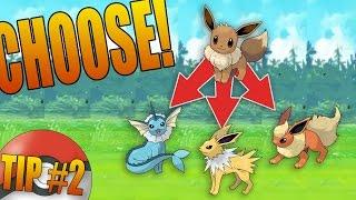 How to FORCE EVOLVE Eevee in Pokemon GO (Choose Vaporeon, Jolteon, or Flareon)