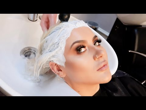 PLATINUM BLONDE HAIR TRANSFORMATION | JAMIE GENEVIEVE from YouTube · Duration:  17 minutes 58 seconds