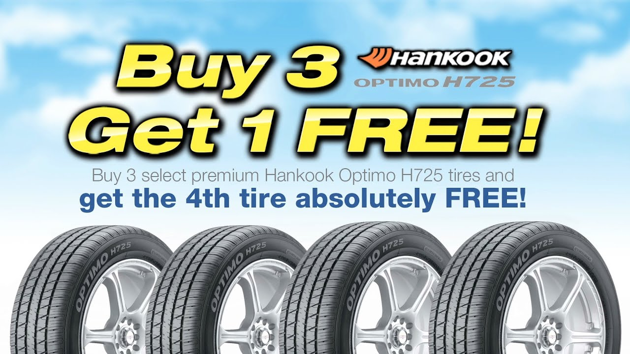 Kost Tire Buy 3 Get 1 Free Youtube