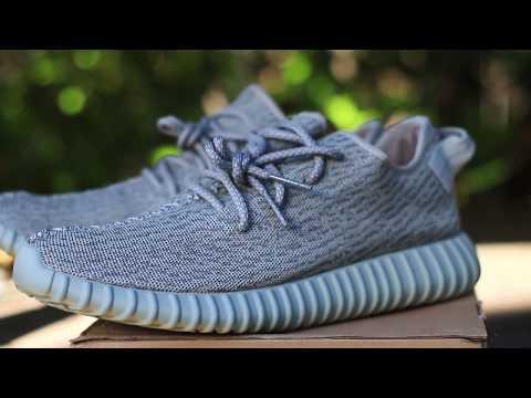 "Adidas Yeezy Boost ""Moonrock"" 350 Unboxing + On Feet"