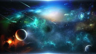 Relax Space Music for  Deep Sleep and Meditation - Space Travel
