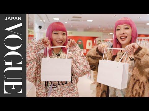 AMIAYAの原宿&表参道ショッピングデートに密着! Shopping with FNI VOGUE JAPAN