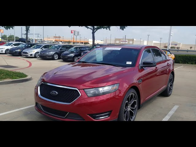 Low miles 2015 Ford Taurus SHO!!