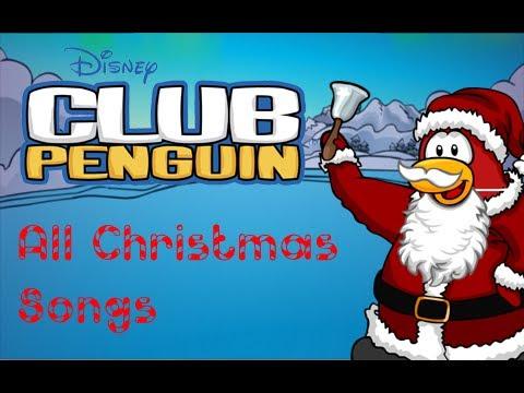 Club Penguin - All Christmas songs (2006 - 2010)