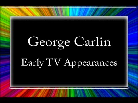 George Carlin  Early TV Appearances