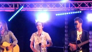 concert Xfactor à marseillan ( Oméga, raphael herrerias et adrien )
