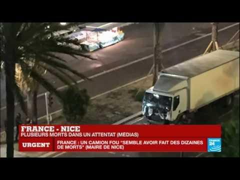 """Nice: """"Le camion était en train de nous écraser. Ça tirait. 17 cadavres dans mon champ de vision"""""""