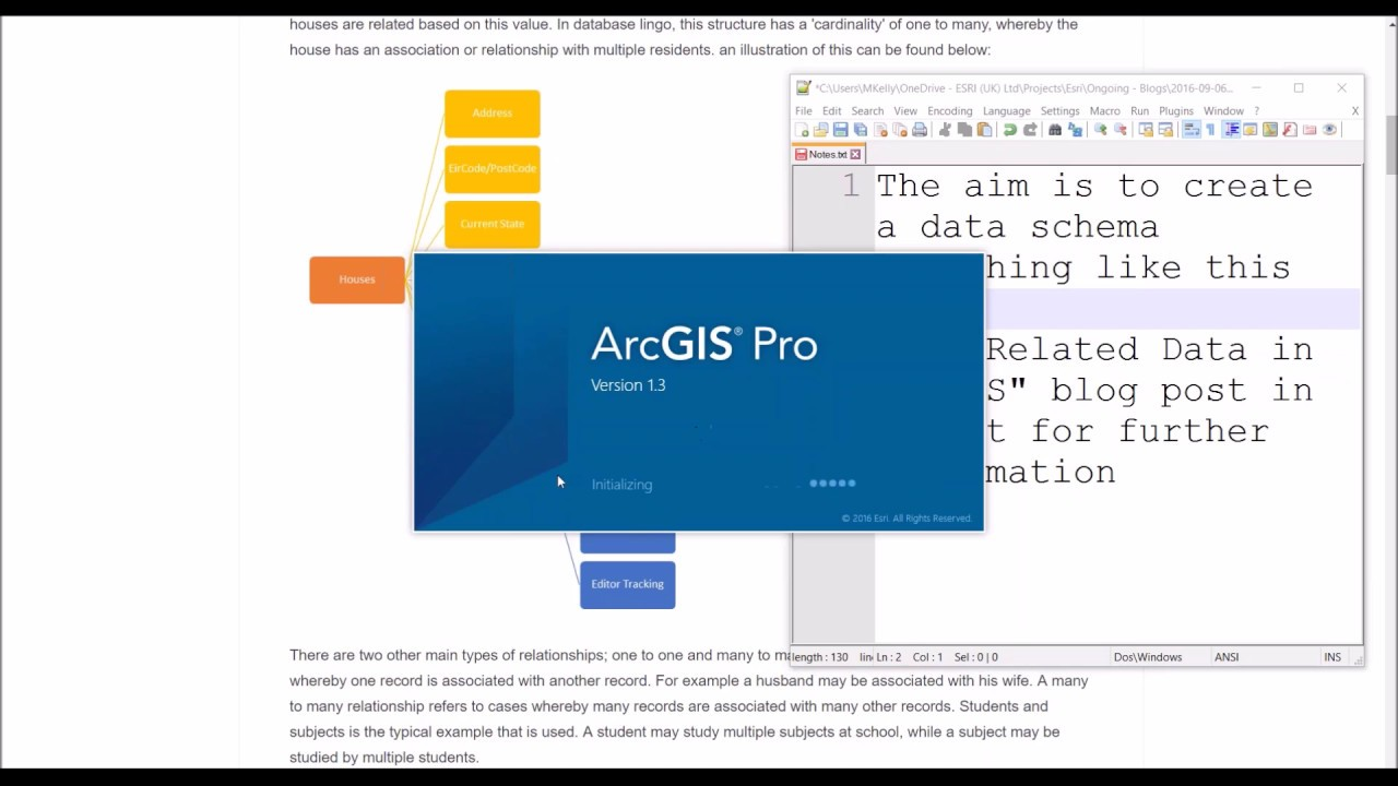 Designing Related Records in ArcGIS Pro for use in ArcGIS Online