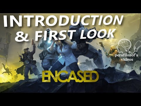 Encased, Introduction and First look gameplay |