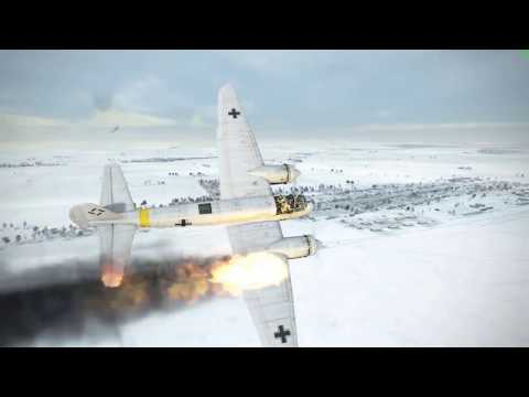 IL-2 Sturmovik: Battle of Stalingrad | Crashes and Kills Montage