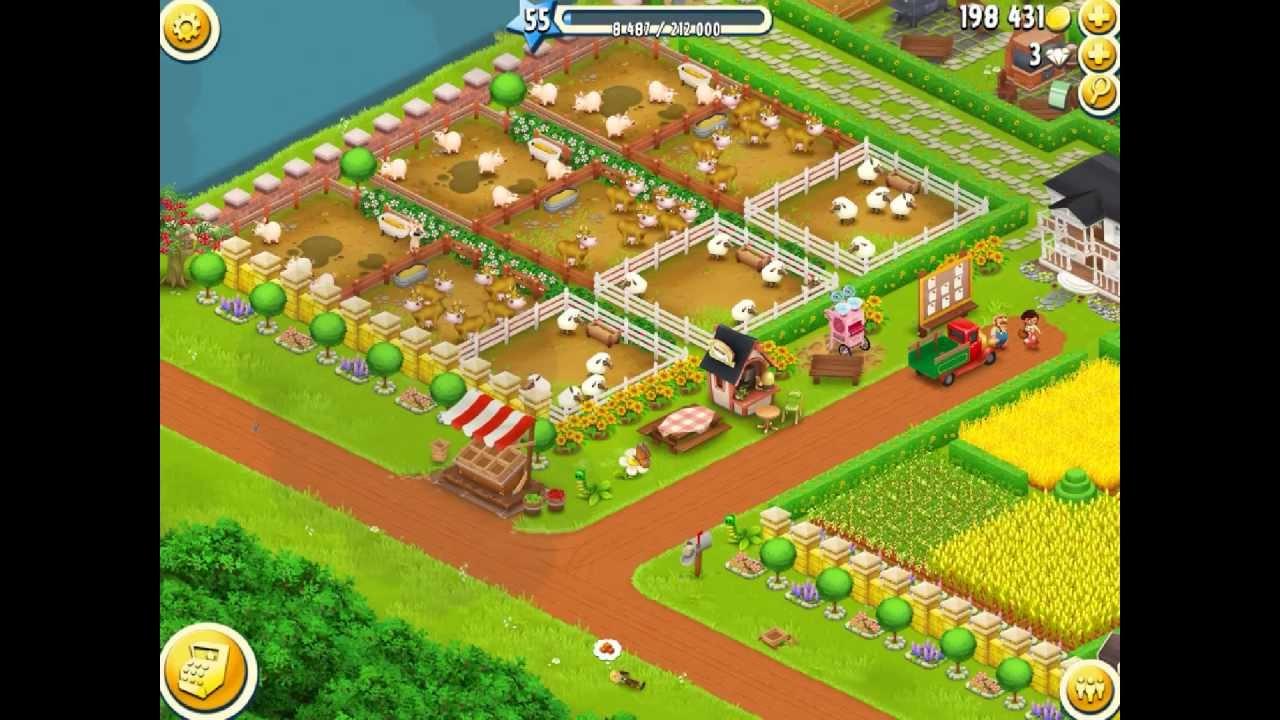 My Hay Day Farm Youtube