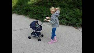 How to make a Doll Baby Stroller