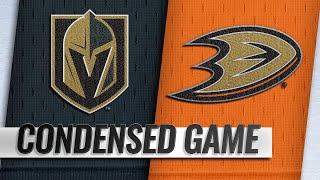 03/01/19 Condensed Game: Golden Knights @ Ducks