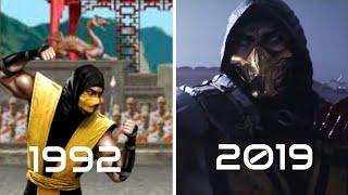 Mortal kombat trailer evolution (1992/2019) (all trailers)