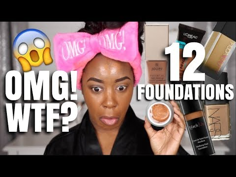 OMG! MIXING ALL MY FOUNDATIONS TO CREATE THE WORLD'S BEST FOUNDATION!! | Andrea Renee