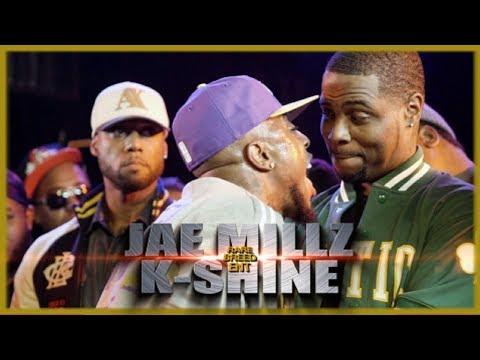 JAE MILLZ VS K-SHINE RAP BATTLE - RBE