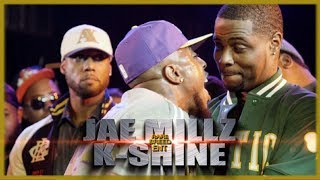 JAE MILLZ VS K-SHINE RAP BATTLE - RBE