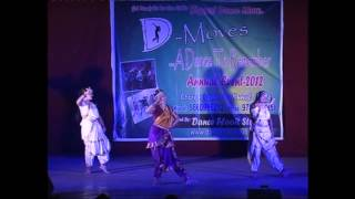 Ekadantaya Vakratundaya - ganesh vadana Dance @D - Moves-2012( dance floor studio)