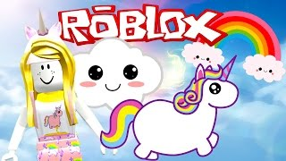 ROBLOX Unicorn Tycoon I Adopt Buttercup Rainbow Lashes The Unicorn