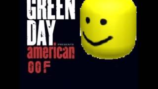 American Idiot, But It's The Roblox Death Sound