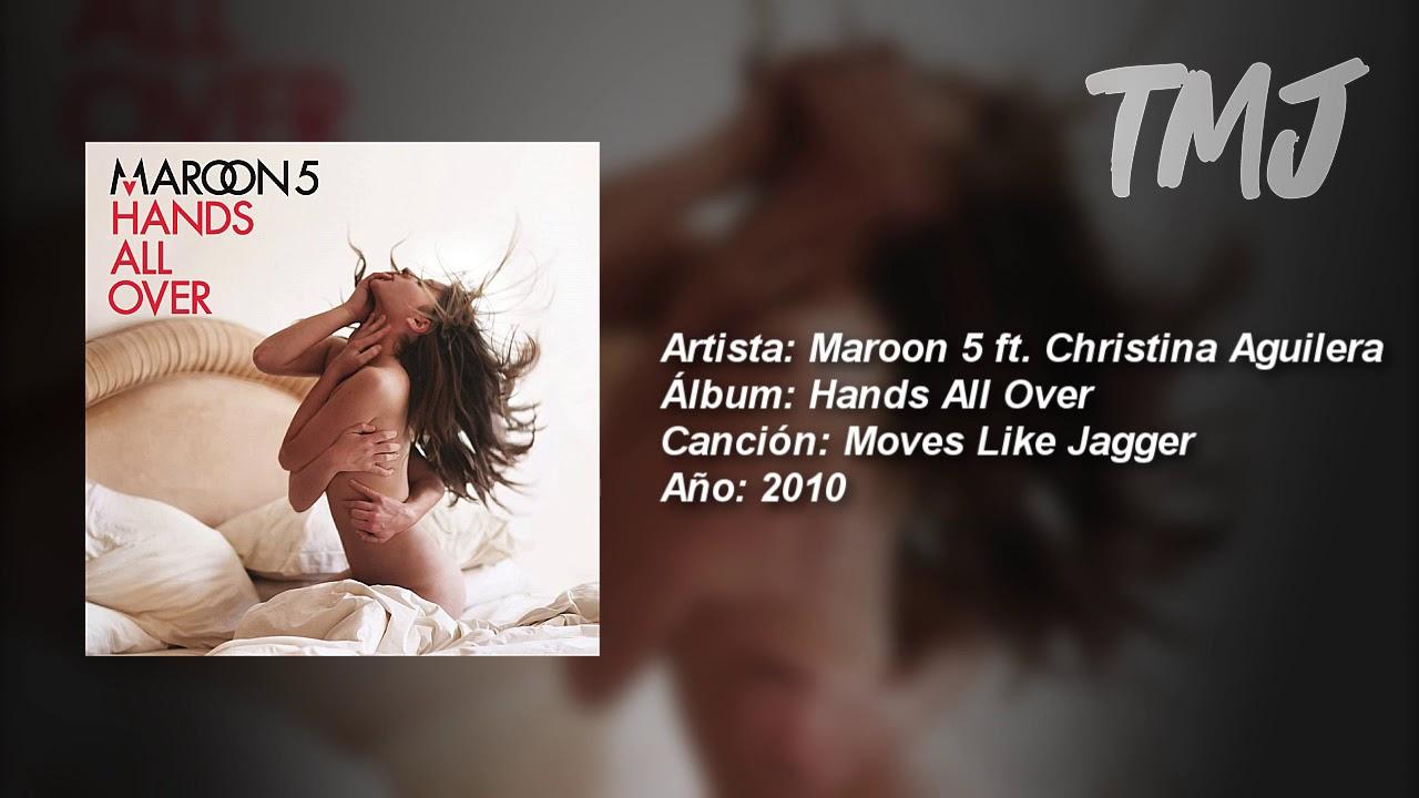 Letra Traducida Moves Like Jagger De Maroon 5 Ft Christina Aguilera Youtube