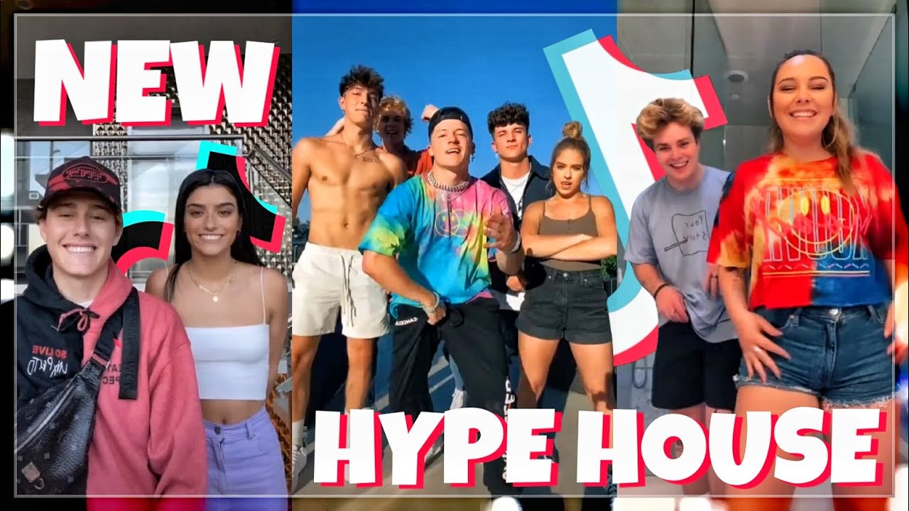 The Hype House New TikTok Compilation