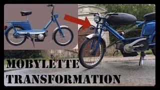 Transformation mobylette en moto