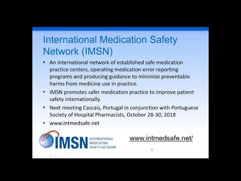 Working Together To Address Global Drug Safety Issues With Packaging And Labeling