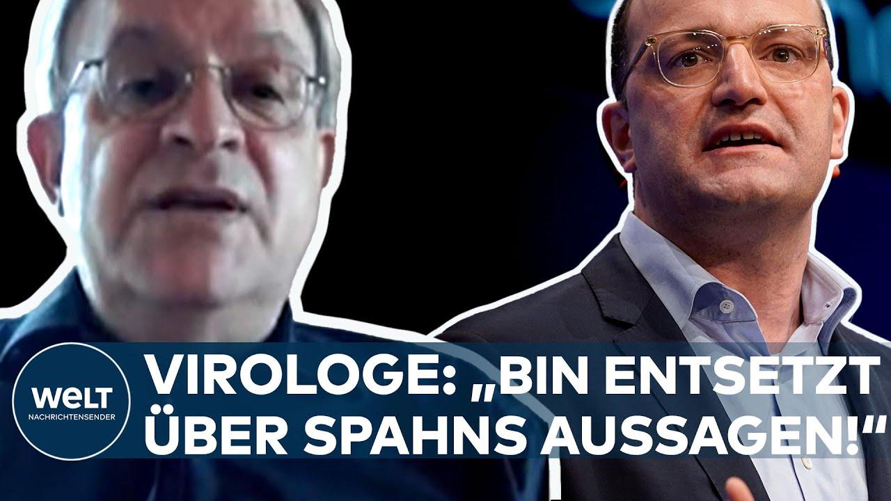 """Download CORONA: Freiheit oder Vorsicht? """"Bin entsetzt über die Aussagen von Jens Spahn"""" - Virologe Liebert"""