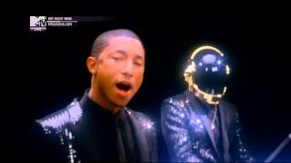 Repeat youtube video Daft Punk ft. Pharrell Williams - Get Lucky (Official MTV Video)