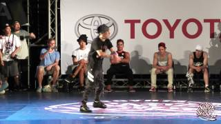 Bboy Solo Battle Final - TAOWER vs LAZY | 2015 TOYOTA BOTY TAIWAN
