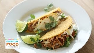 Slow-cooker Chicken Taco - Everyday Food With Sarah Carey