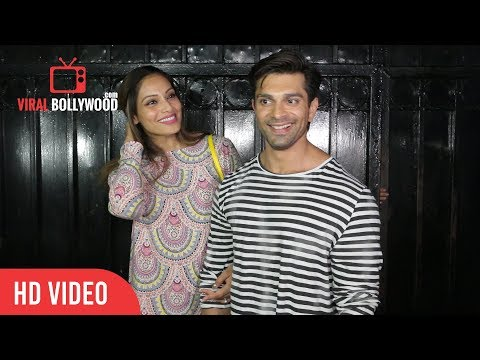 Bipasha Basu and Karan Singh Grover at Ekta Kapoor Party 2018