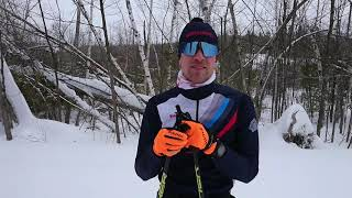 Worldloppet Race Reporter Philipp at the Gatineau Loppet
