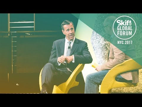 Marriott CEO Arne Sorenson at Skift Global Forum 2017