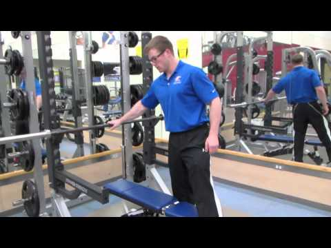 Setup bench press and squats in a half rack properly
