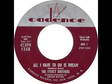 The Everly Brothers~ All I Have To Do Is Dream ~ Long Version Remix ~