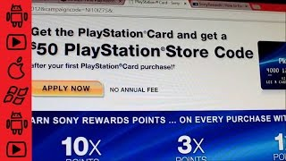 Sony Playstation Credit Card Review - My impressions and free $50 when you sign up!