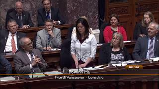 Bowinn Ma Stands Up For Students and Parents in Question Period