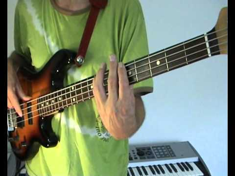 Robert Palmer – Addicted To Love – Bass Cover