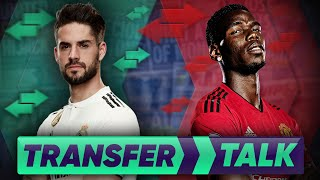 Paul Pogba Is Ready To QUIT Manchester United For Real Madrid?! | Transfer Talk
