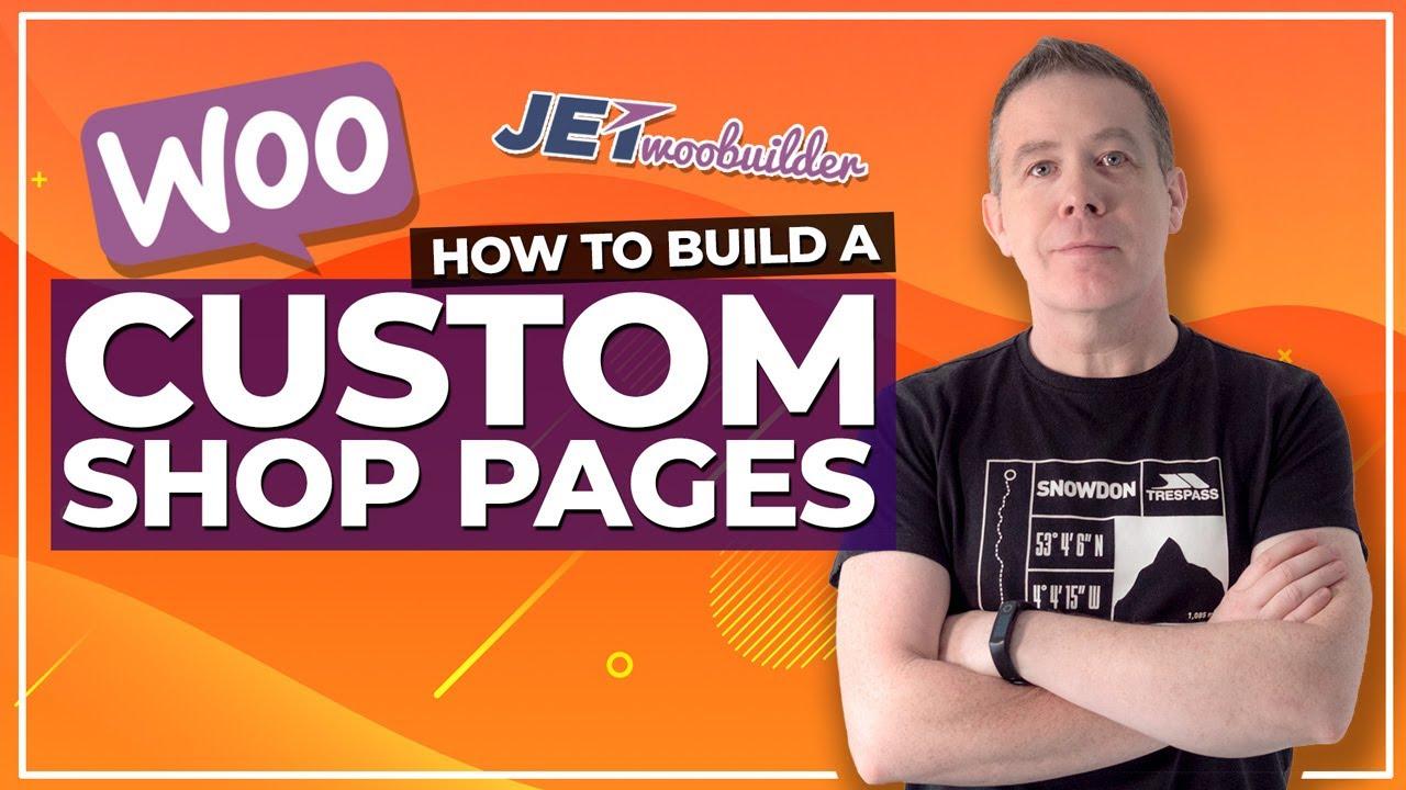 WooCommerce Elementor Shop Page Customisation with JetWooBuilder