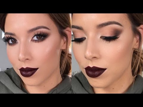 GET READY WITH ME: SMOKEY CAT EYES   LUSTRELUX