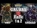 Grubby | 'Grubby vs EnTe - Games 1 & 2' | Warcraft 3 | ORC vs UD