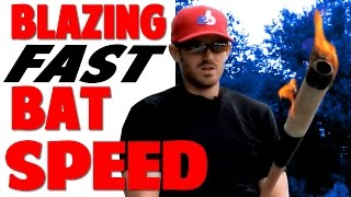 how to create blazing bat speed   hitting drill   pro speed baseball