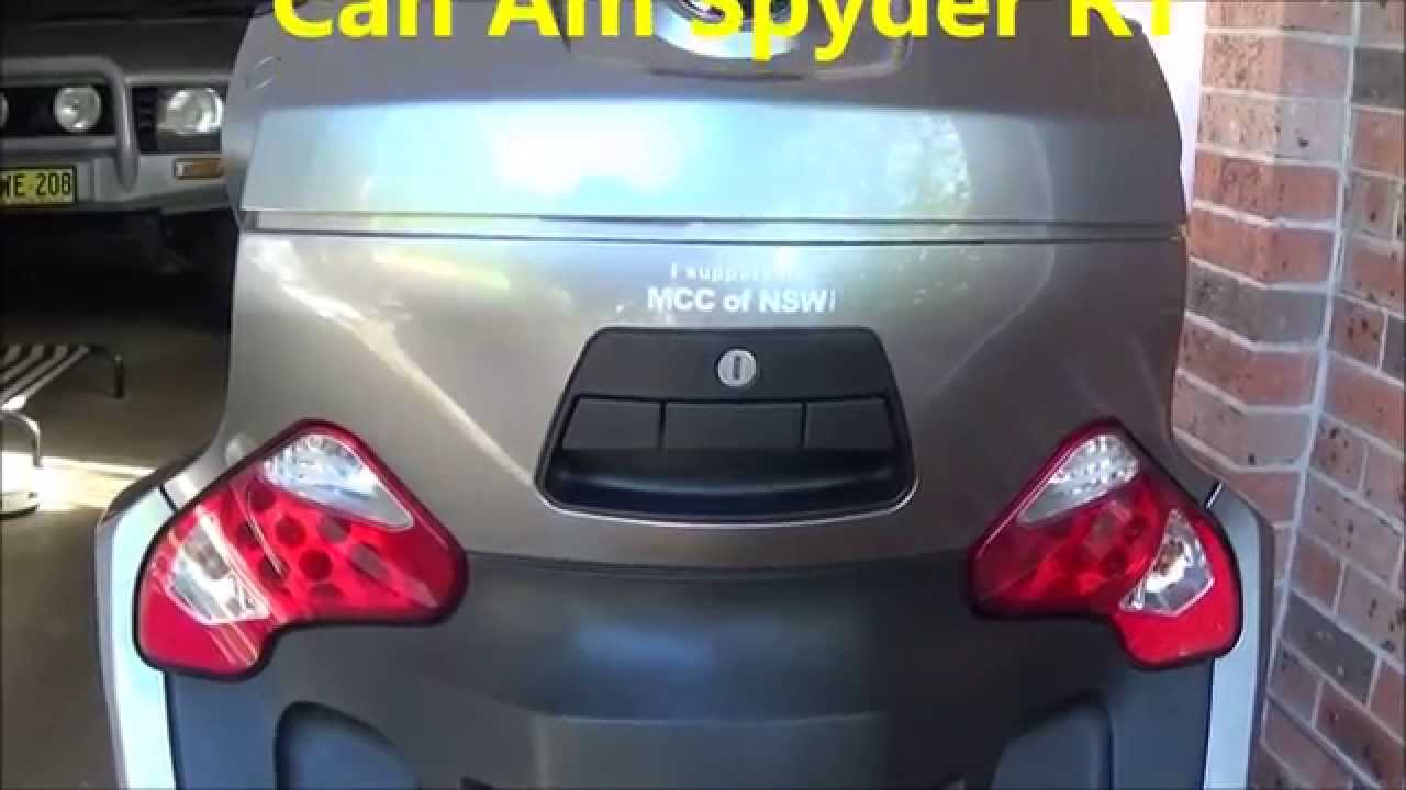How to remove Tail Light Globes - Can Am Spyder RT - YouTube