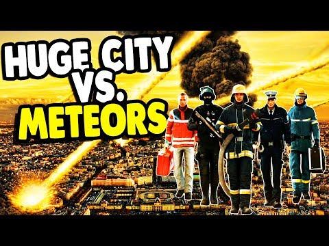 Big CITY DESTROYED by METEOR STRIKE | Emergency 20 Gameplay